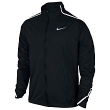 Buy Nike Shield Impossibly Light Running Jacket, Black Online at johnlewis.com