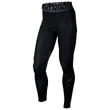 Buy Nike Pro Hypercool Tights, Black/Dark Grey Online at johnlewis.com