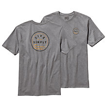 Buy Patagonia Live Simply Hook T-Shirt Online at johnlewis.com