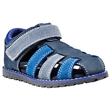 Buy Timberland Children's Poken Pine Fisherman Sandals, Sapphire Blue Online at johnlewis.com
