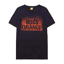 Buy BOSS Orange Tampiln Graphic Print T-Shirt Online at johnlewis.com