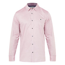 Buy Ted Baker Herules Textured Cotton Shirt Online at johnlewis.com