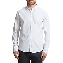 Buy BOSS Orange Edipoe Casual Shirt, White Online at johnlewis.com