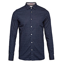 Buy Ted Baker Autumnn Paisley Print Shirt, Navy Online at johnlewis.com