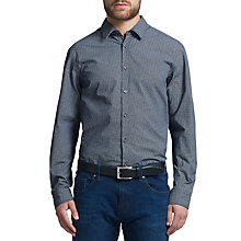 Buy BOSS Green C-Bluemoon Regular Fit Shirt, Navy Online at johnlewis.com