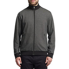 Buy BOSS Green C-Cannobio Zip-Up Sweatshirt, Black Online at johnlewis.com