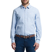 Buy BOSS Green C-Balsamo Shirt, Medium Blue Online at johnlewis.com