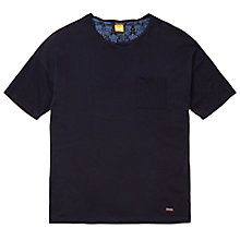 Buy BOSS Orange Traviss Regular Fit T-Shirt, Dark Blue Online at johnlewis.com