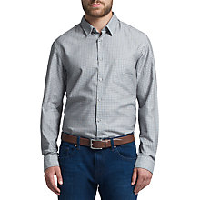 Buy BOSS Green C-Benedetto Cotton Shirt, Navy Online at johnlewis.com