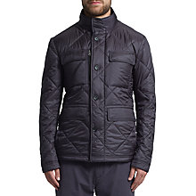 Buy BOSS Green Calson Quilted Jacket, Dark Blue Online at johnlewis.com