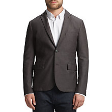 Buy BOSS Orange Beneslim Slim Fit Blazer, Light Pastel Grey Online at johnlewis.com