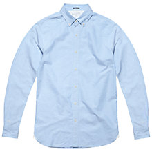 Buy Denham Rhys Oxford Shirt, Blue Online at johnlewis.com