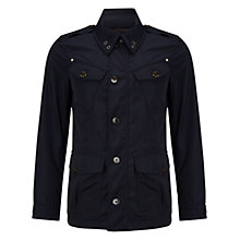 Buy Hackett London Summer Fenton Jacket, Navy Online at johnlewis.com