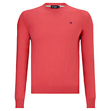 Buy Hackett London Pima Crew Neck Jumper Online at johnlewis.com