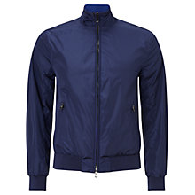 Buy Hackett London Lightweight Blouson Jacket, Cobalt Online at johnlewis.com