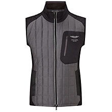 Buy Hackett London AMR Tech Gilet, Grey Marl Online at johnlewis.com