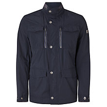 Buy Bugatti Water Repellent Jacket, Navy Online at johnlewis.com