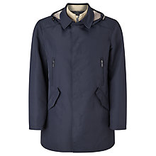 Buy Bugatti Water Repellent Mac, Navy Online at johnlewis.com