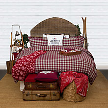 Buy Lexington Holiday Twill Check Bedding Online at johnlewis.com