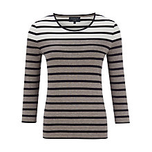 Buy Viyella Stripe Jersey Top Online at johnlewis.com