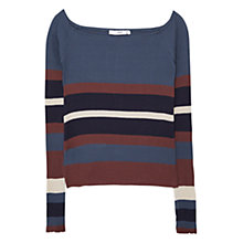 Buy Mango Ribbed Cotton Top Online at johnlewis.com