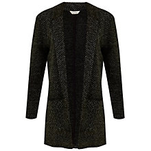 Buy Miss Selfridge Boucle Duster Jacket, Grey Online at johnlewis.com