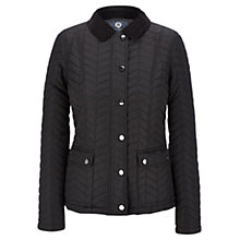 Buy Viyella Quilted Riding Jacket, Black Online at johnlewis.com