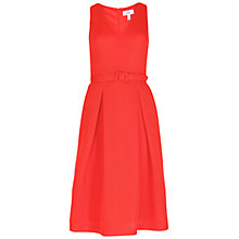 Buy Belle by Badgley Mischka Textured Dress, Red Online at johnlewis.com