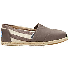 Buy TOMS Alpargata Flat Slip On Espadrilles Online at johnlewis.com