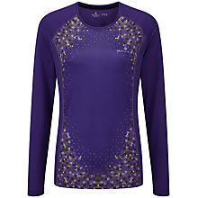 Buy Ronhill Aspiration Long Sleeve Running Top, Electric Purple Online at johnlewis.com