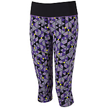 Buy Ronhill Aspiration Rhythm Capri Pants, Purple Online at johnlewis.com