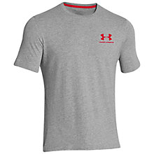 Buy Under Armour Charged Cotton T-Shirt, True Grey Online at johnlewis.com