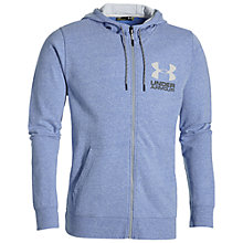 Buy Under Armour Tri-Blend Fleece Hoodie, Royal Blue Online at johnlewis.com