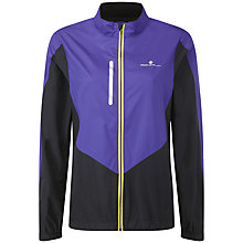 Buy Ronhill Aspiration Windlite Jacket, Purple/Black Online at johnlewis.com