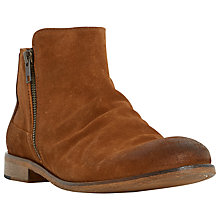 Buy Dune Cinder Double Zip Boots Online at johnlewis.com