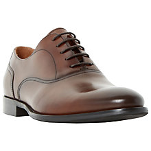 Buy Dune Redcoat Burnished Oxford Shoes, Tan Online at johnlewis.com