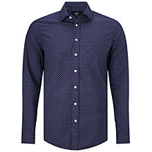 Buy Hackett London Slim Fit Diamond Print Shirt Online at johnlewis.com