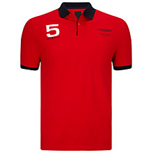 Buy Hackett London Aston Martin Racing Hackett Collar Polo Shirt Online at johnlewis.com