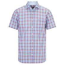 Buy Hackett London Bold Check Short Sleeve Shirt Online at johnlewis.com
