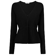 Buy L.K. Bennett Alea Knit Jacket, Black Online at johnlewis.com