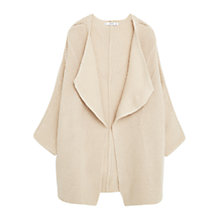 Buy Mango Dolman Sleeve Cardigan, Light Grey Online at johnlewis.com