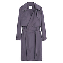 Buy Mango Flowy Trench Coat Online at johnlewis.com