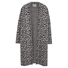 Buy Mango Mohair Wool-Blend Cardigan, Medium Grey Online at johnlewis.com