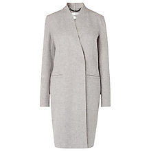 Buy L.K. Bennett Sandra Wool Coat, Grey Online at johnlewis.com
