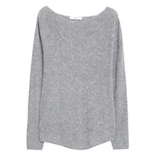 Buy Mango Wool Blend Knit Detail Jumper Online at johnlewis.com