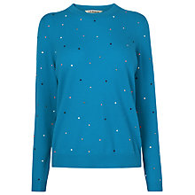 Buy L.K. Bennett Jade Embellished Jumper Online at johnlewis.com