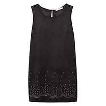 Buy Mango Studded Dress, Black Online at johnlewis.com