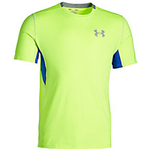 Buy Under Armour CoolSwitch Men's Running T-Shirt, X-Ray Online at johnlewis.com