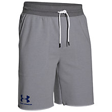 Buy Under Armour Sportstyle Terry Shorts, Air Force Grey Online at johnlewis.com