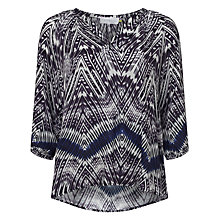 Buy Collection WEEKEND by John Lewis Feather Print Top, Multi Online at johnlewis.com